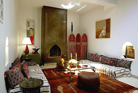 Moroccan House Family Room