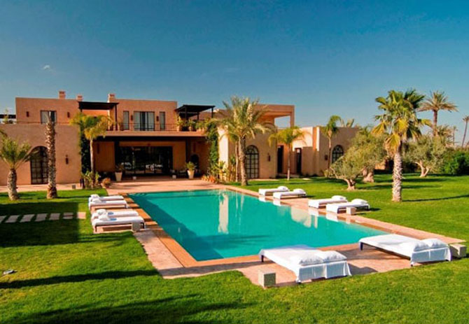 Traditional Moroccan house with Modern Design | Architecture Idea