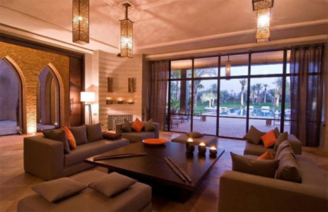 Outstanding Moroccan Living Room Design