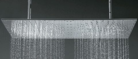Large shower head