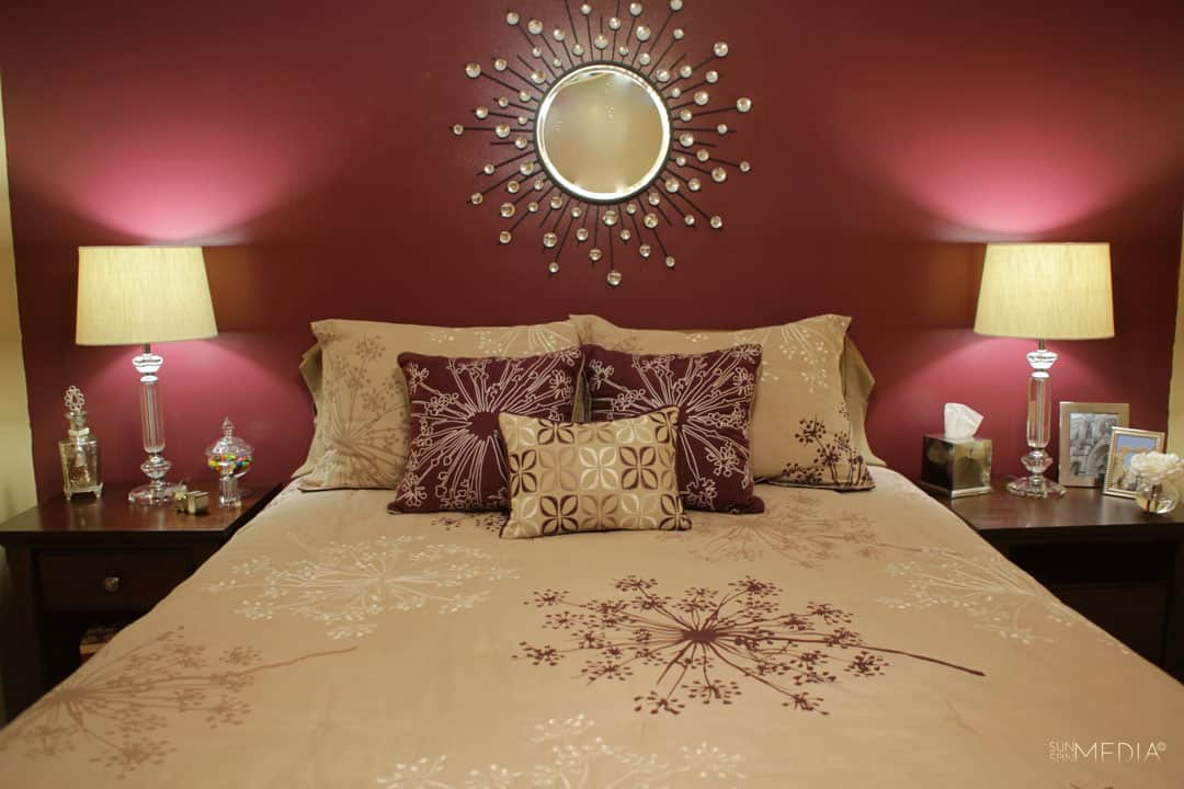 Ideas to create a perfect Maroon Bedroom - Decoration Channel