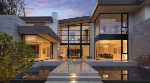 Architecture modern house design