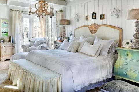 Vintage romantic bedroom ideas