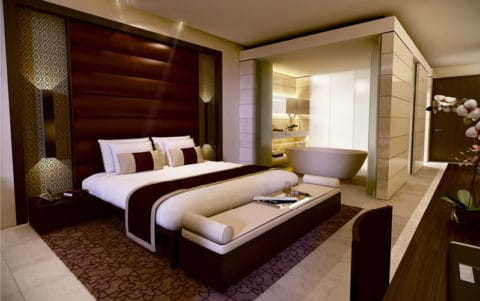 most luxury guest room design