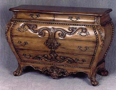 antique furniture chest with large size