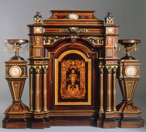 antique furniture with chinese concept