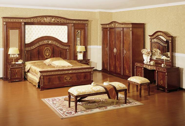 Wooden Bedroom Theme