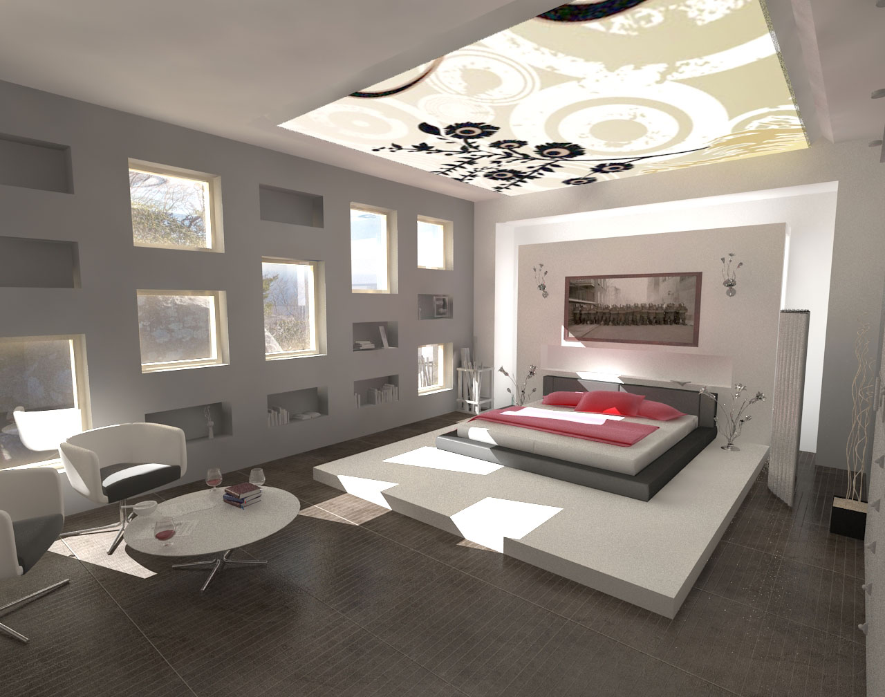 Luxury Grey Bedroom Ideas