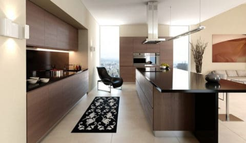 Minimalist kitchen with awesome design