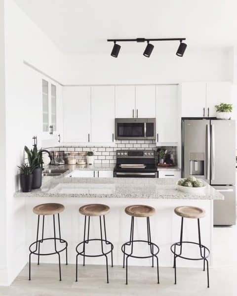 The latest minimalist kitchen ideas
