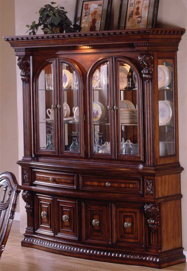 Ordinaire Traditional China Cabinet Style
