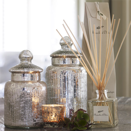 Silver House Fragrance Theme