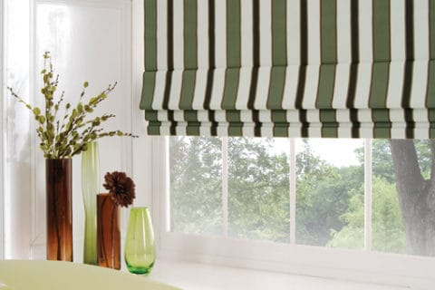 roman blinds with best lining motif