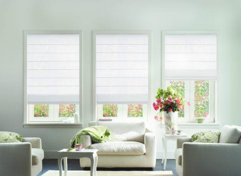 suitable roman blinds for minimalist room