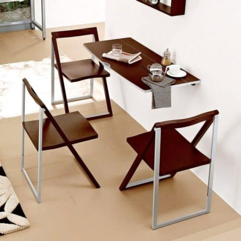 Dining table for small area