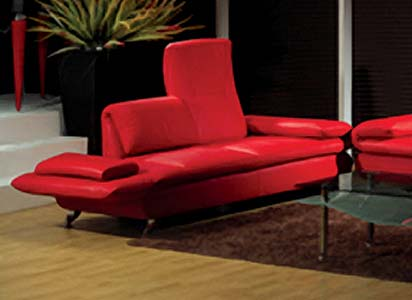 Hot Red Love Seat Color