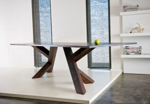 contemporary dining table for wide area