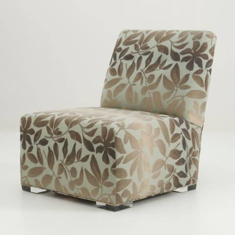 glossy cover for slipper chair