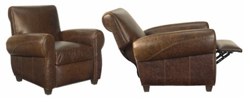 how to fold a leather recliner