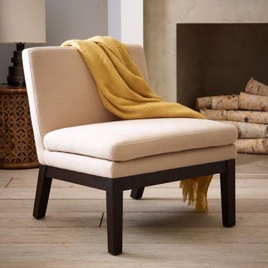 most comfortable slipper chair concept