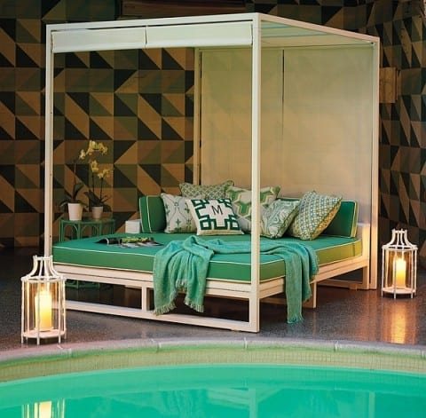 contemporary outdoor daybed ideas