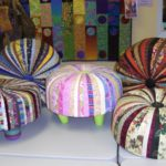 """Colorful Tuffet """"Palace Atmosphere at Our Home"""""""