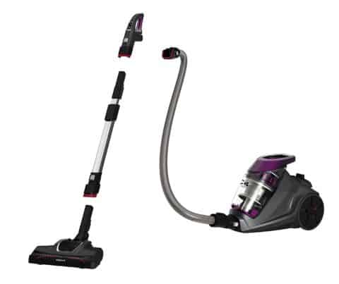 Bissell c4 cyclonic, 1233 canister vacuum detail