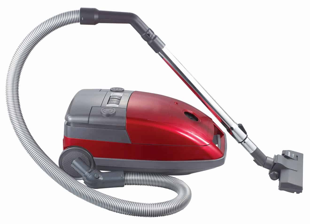 grey and red Vacuum Cleaner Colors Combination