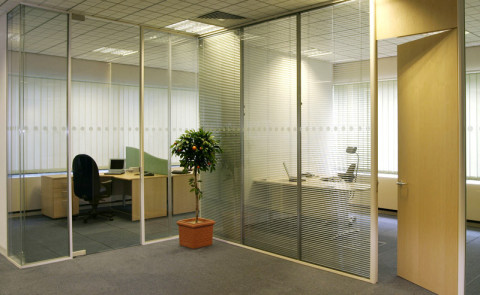 Glass Wall for Office Room