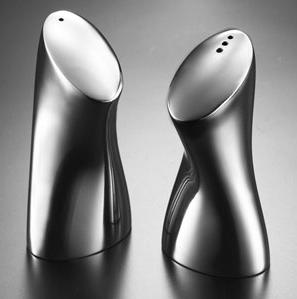 Stainless Stell Salt and Pepper Set