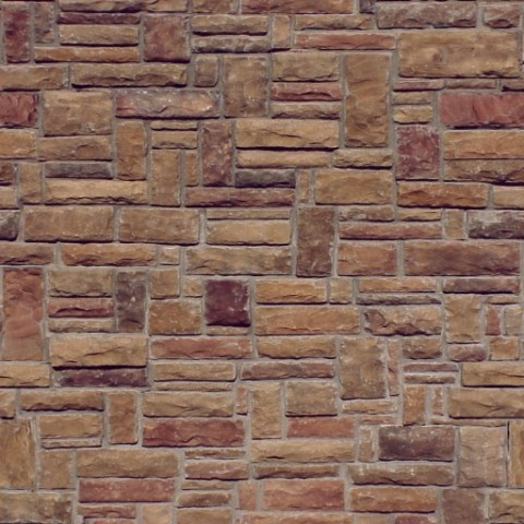 Brown Stone Wall Color