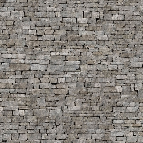 Simple Stone Wall Design