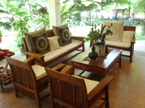 Ethnic Teak Furniture Model