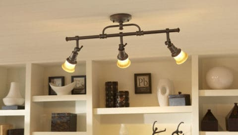 Classical track lighting concept