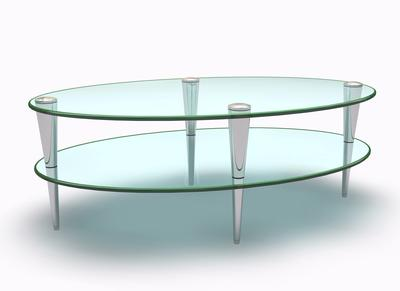 Glass Table Give Elegant Performance at Your Room