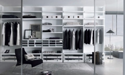 Best Glass Walk-In Closet Ideas