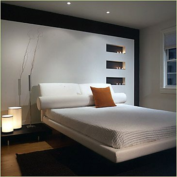Modern Bedroom with stylish model