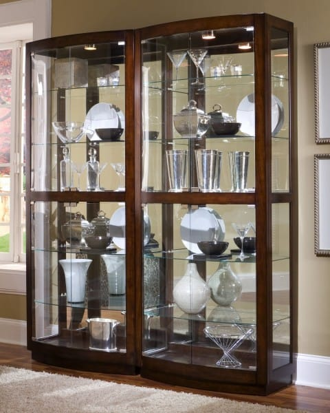 Curio Cabinets for dining room