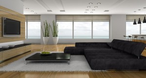 Modern Living Room Decorating