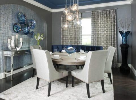 Contemporary dining room concept