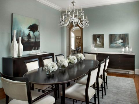 Dining room lighting ideas with candle style