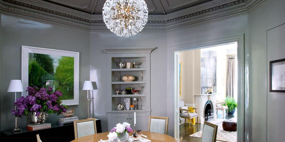 Luxury dining room lighting ideas