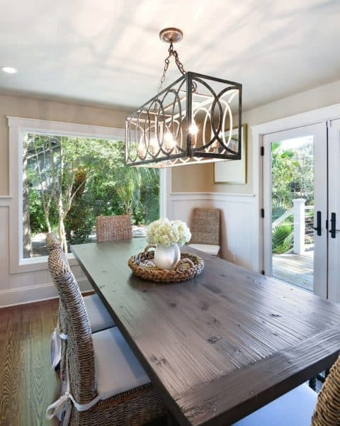 Unique dining room lighting ideas