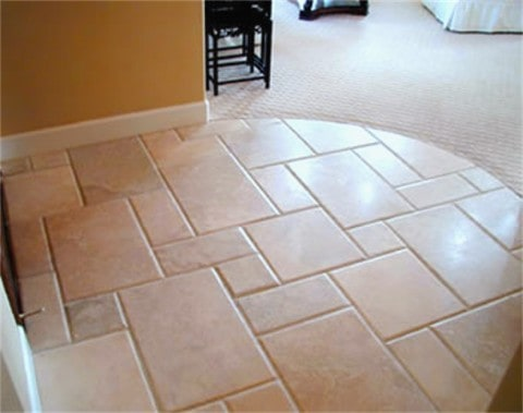 Ceramic Tiles with varied shape