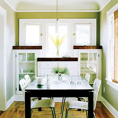 modern Small Dining Room concept