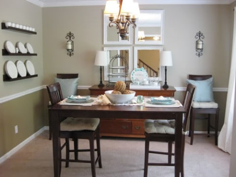 Small Dining Room lighting