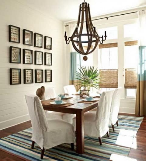 stylish Small Dining Room model
