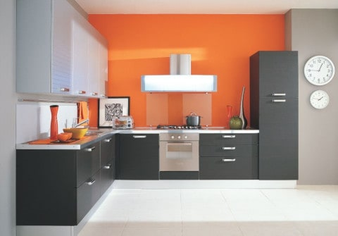 Smart Kitchen for wide room space