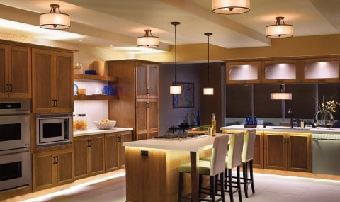 Kitchen Lighting with modern concept