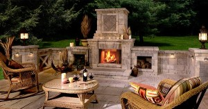 Outdoor Fireplace Best Exterior Design